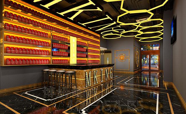 酒吧KTV排列三走势设计案例效果图,酒吧排列三走势,杭州酒吧排列三走势