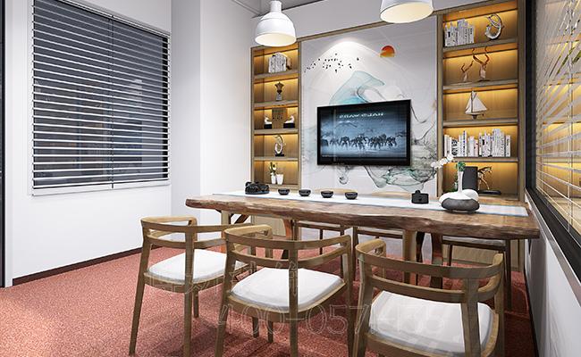 杭州办公室装修实景图,办公室装修案例效果图,杭州办公室装修