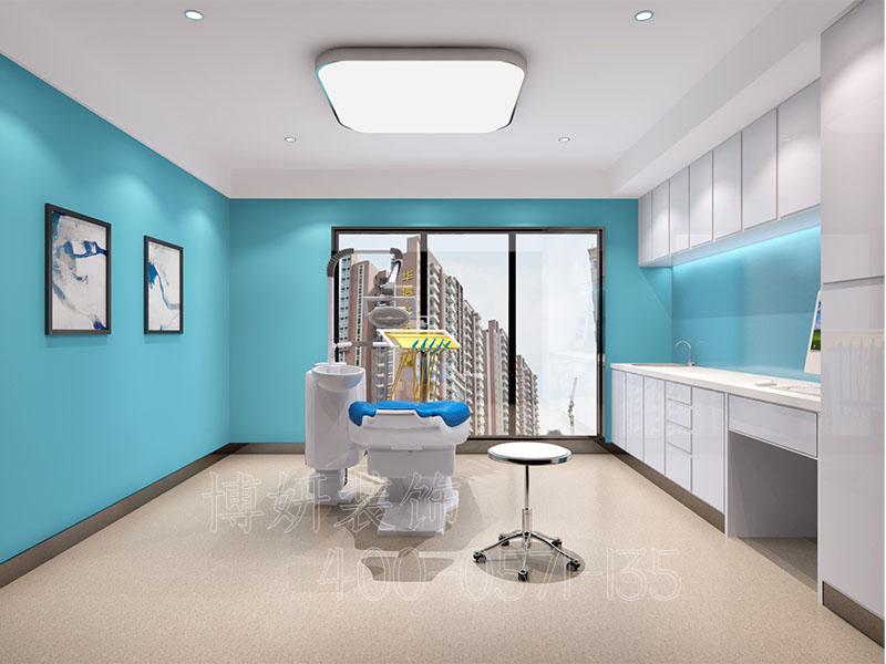 杭州口腔诊所装修设计,牙科诊所装修设计效果图,杭州诊所装修