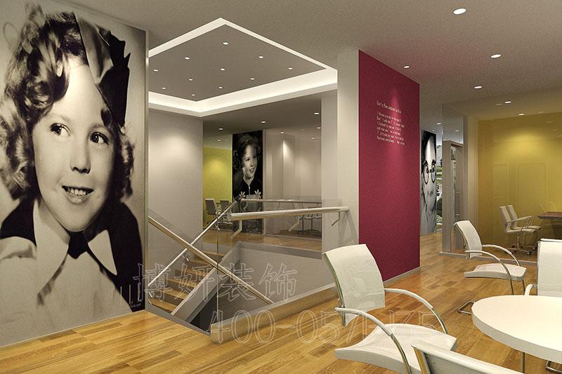 杭州外语办公室装修案例,办公室装修设计效果图,杭州办公室装修