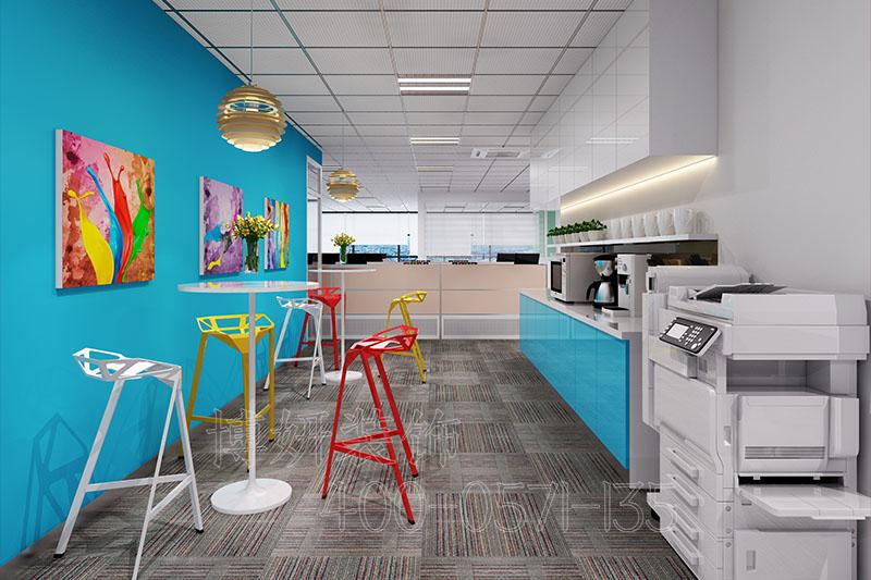 科技公司办公室装修设计,办公室装修案例效果图,杭州办公室装修