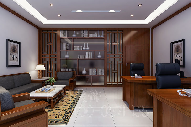 山东学校办公室装修案例-学校办公室装修设计实景图
