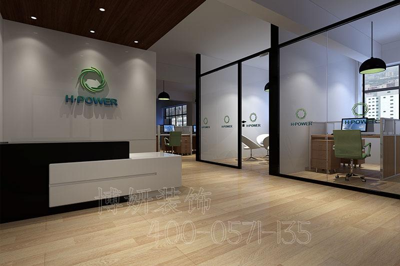 山东医学公司办公室装修-医药办公室装修案例效果图片