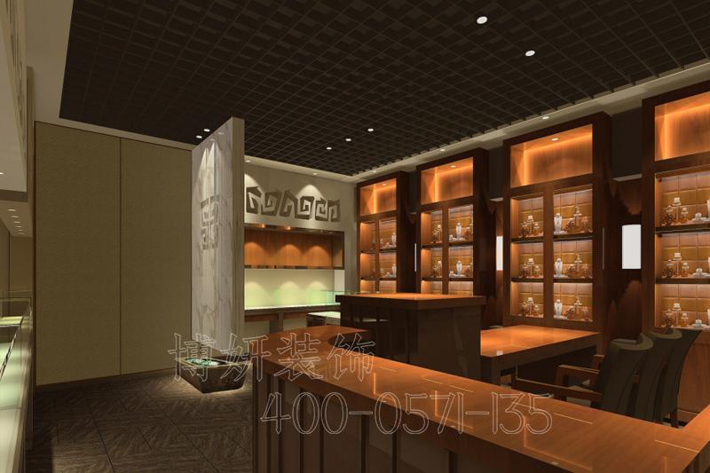 杭州高端珠宝店装修设计-案例效果图