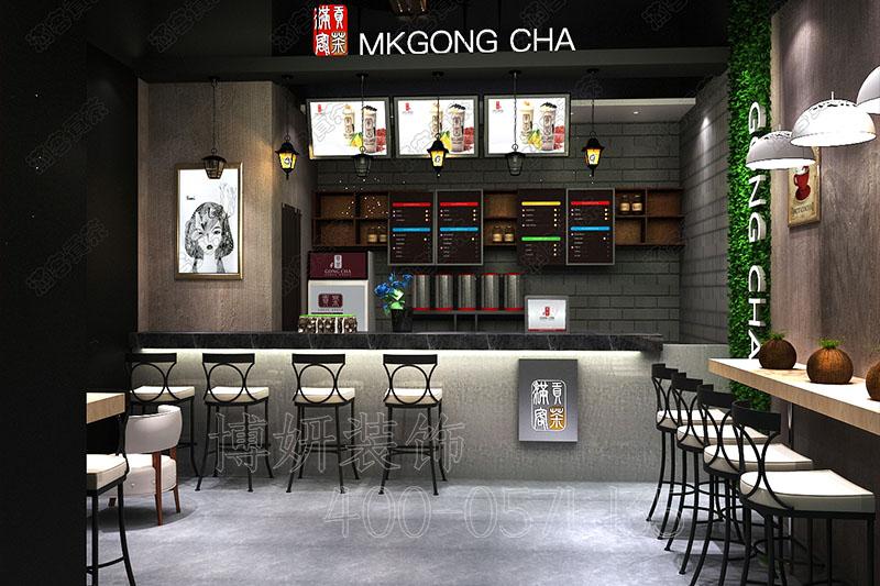 杭州茶饮店排列三走势设计-案例效果图