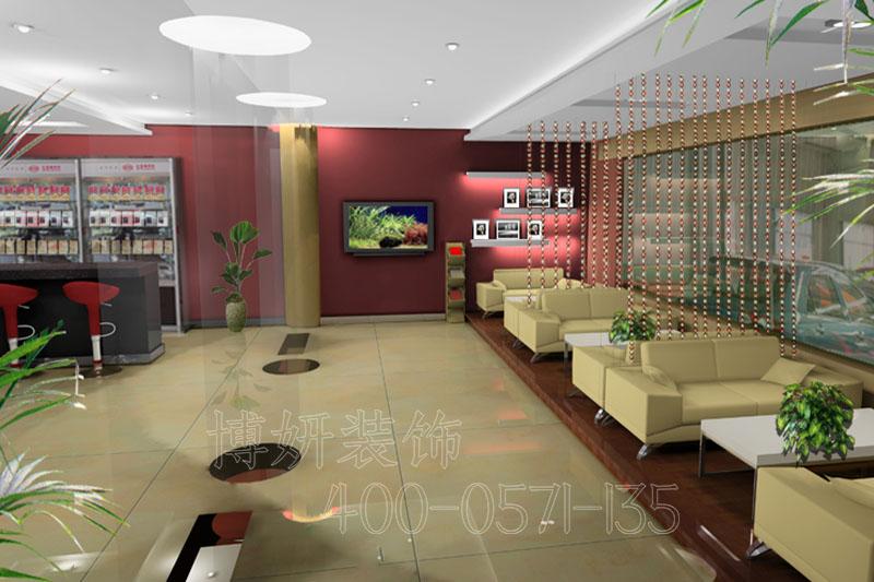 比亚迪4s店装修,汽车4s店装修,杭州装修公司