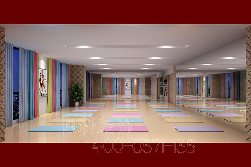 瑜伽馆装修设计,瑜伽馆案例效果图