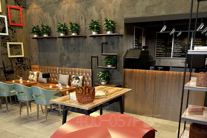 杭州烘焙店装修设计-案例效果图
