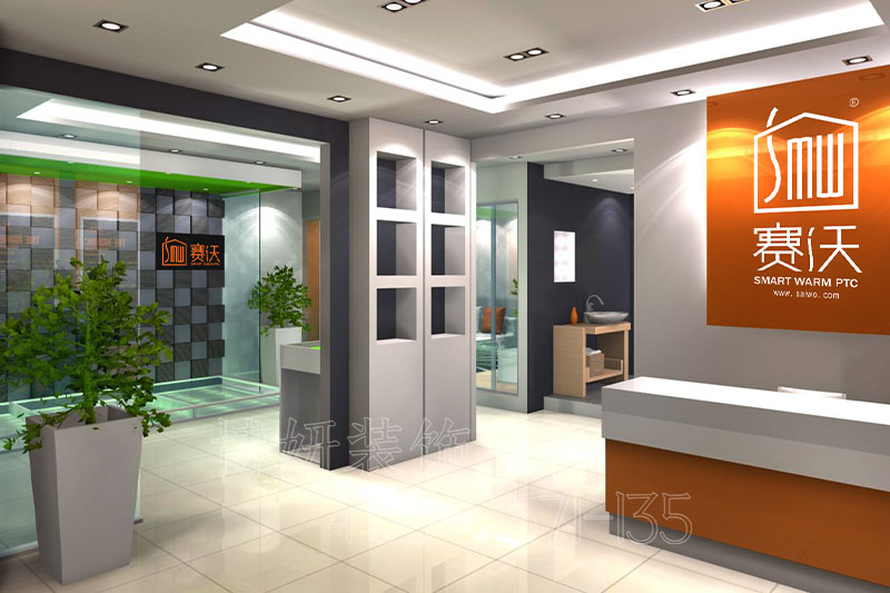 杭州地暖展厅装修案例-地暖展厅装饰实景效果图片