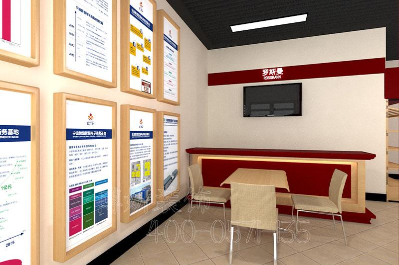杭州体验店排列三走势设计-体验店实景案例效果图片