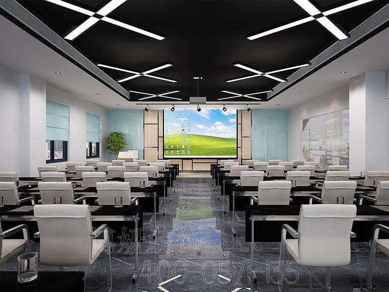 杭州证券办公室装修-证券公司办公室装饰案例实景图片