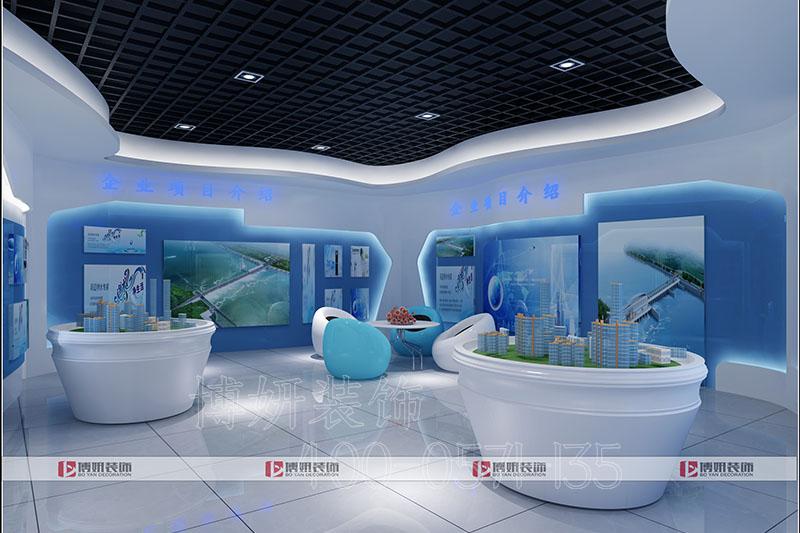 临平科技感电器展厅装修设计-案例效果图