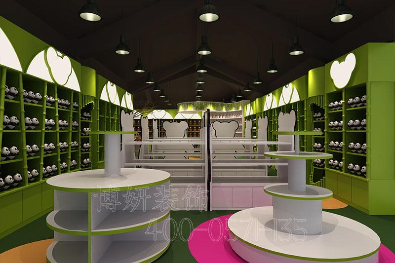 杭州玩具店排列三走势设计-玩具店实景案例效果图