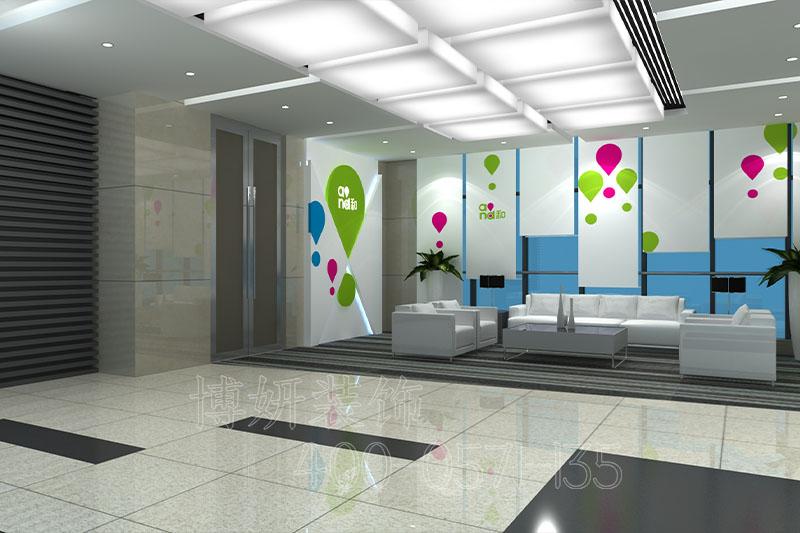 移动展厅装修设计,展厅装修装饰实景全景图片,杭州展厅装修