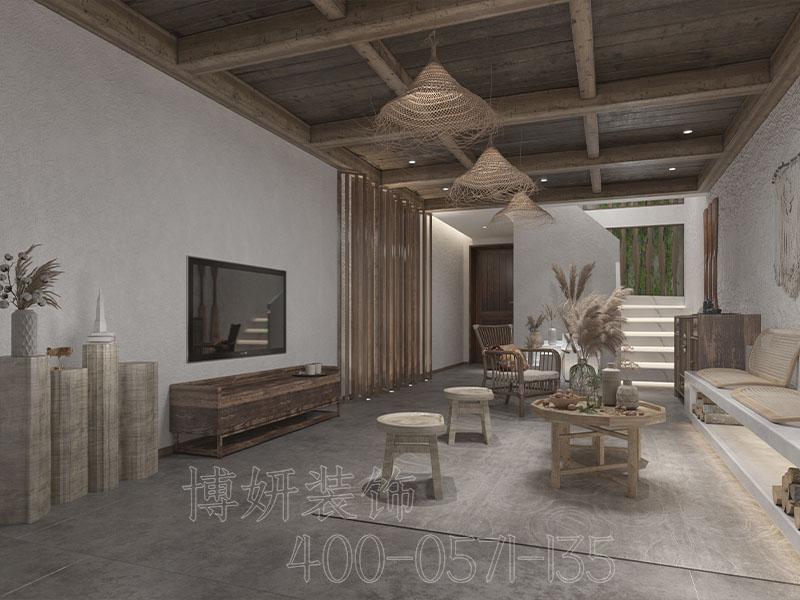 特色民宿装修实景,民宿装修设计实景案例图,杭州民宿装修