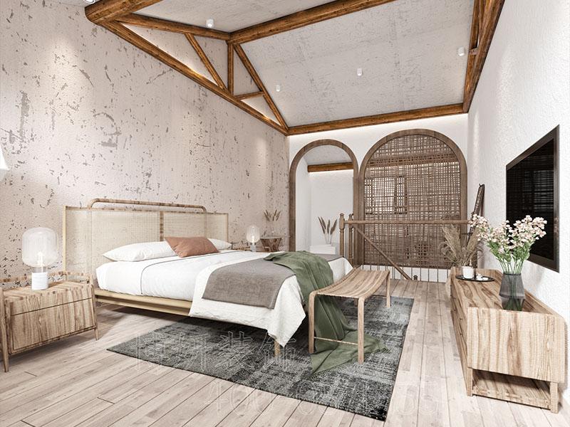 特色风民宿装修案例,民宿装修案例效果图,民宿装修