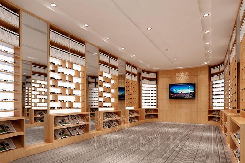 眼镜店装修,眼镜店设计,杭州眼镜店装修,杭州装修公司