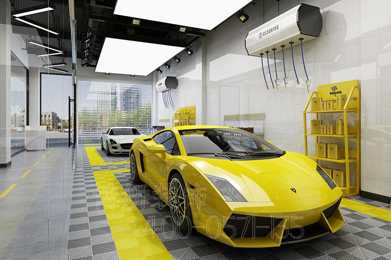杭州专业洗车店装修设计,杭州洗车店装修注意事项