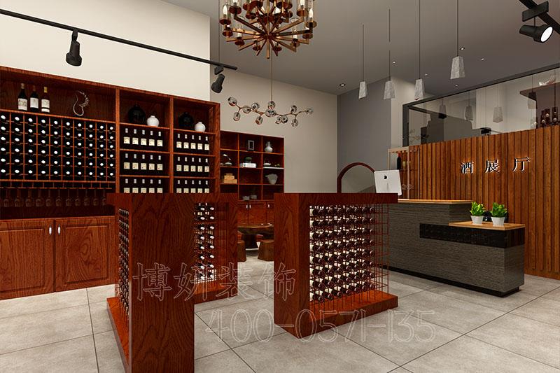 杭州专业酒窖装修设计-酒窖装修效果图