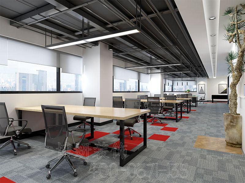 杭州网红办公室装修,小面积办公室装修设计,办公室装修