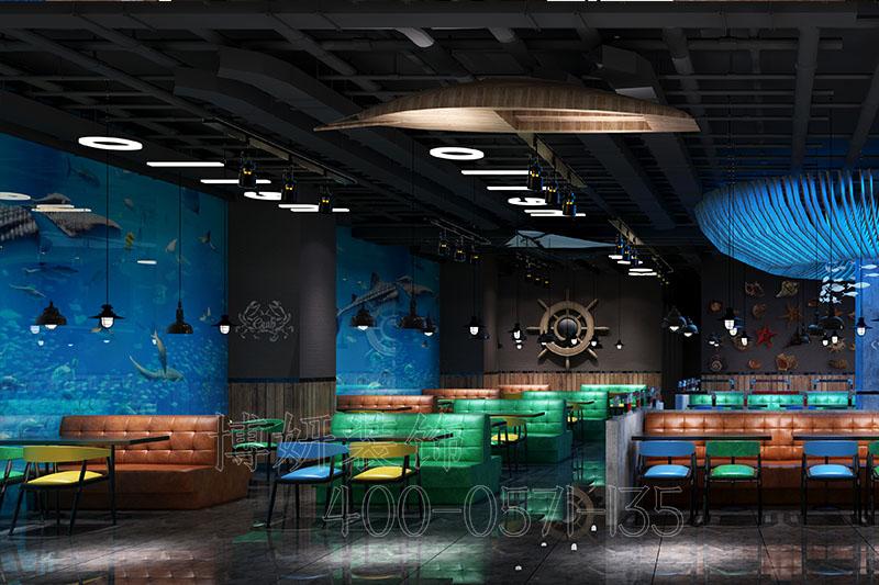 漳州美食街装修设计-专业美食街装修案例
