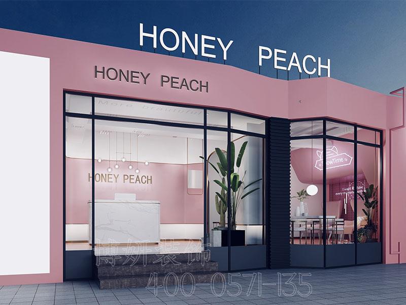 温馨的杭州美甲店装修案例分享,小而精致的美甲店装修