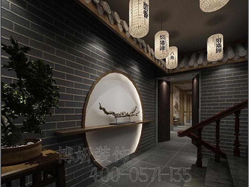 杭州西湖区川菜馆装修设计,杭州正宗川菜馆装修效果图