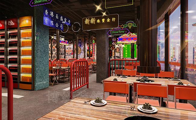 杭州西湖区茶餐厅装修设计,杭州专业餐饮空间打造公司