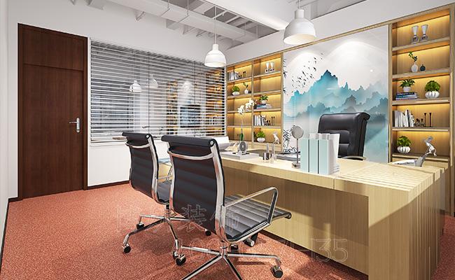 杭州金融公司办公室装修-公司办公室装修