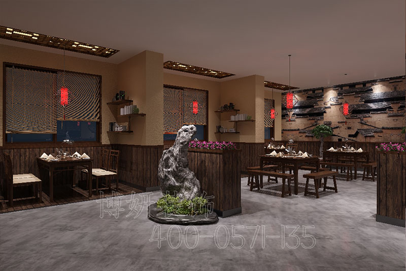 杭州饭店设计装修公司为您分享饭店设计装修案例