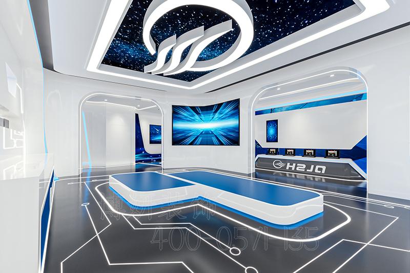 杭州专业科技展厅装修设计-案例效果图