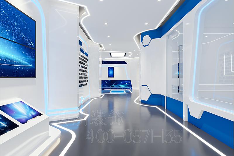 杭州科技展厅装修设计-案例效果图