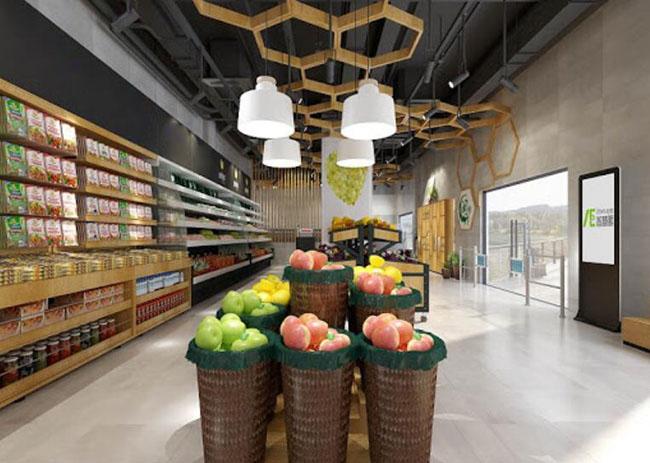 杭州生鲜超市装修注意事项,打造受欢迎的生鲜超市