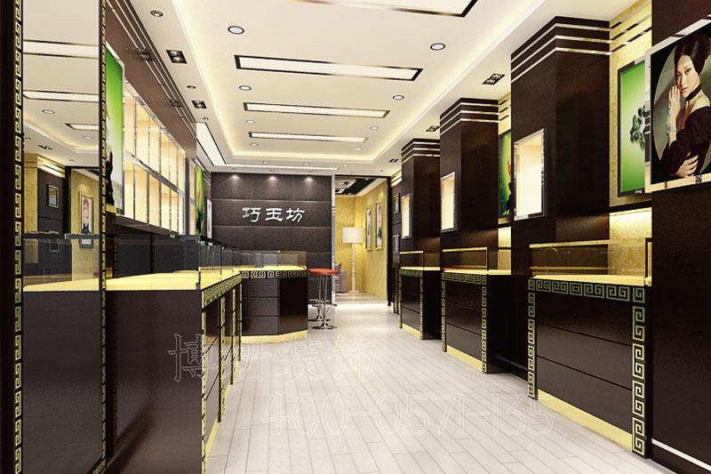 西湖黄金珠宝店排列三走势,黄金珠宝店设计案例图,杭州珠宝店排列三走势