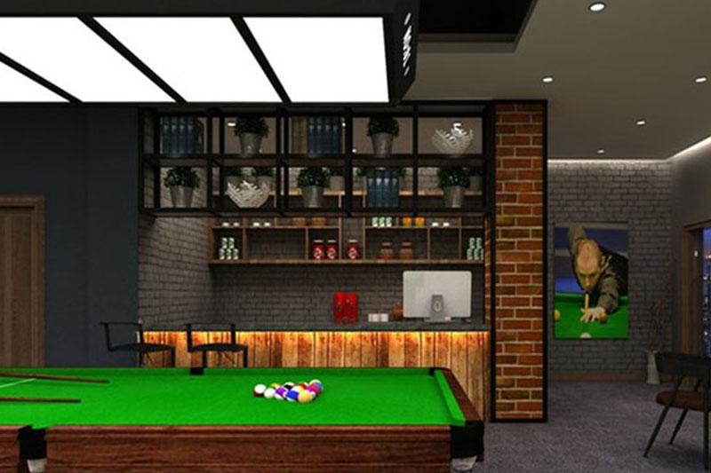 桌球室装修,杭州桌球室装修,杭州装修公司