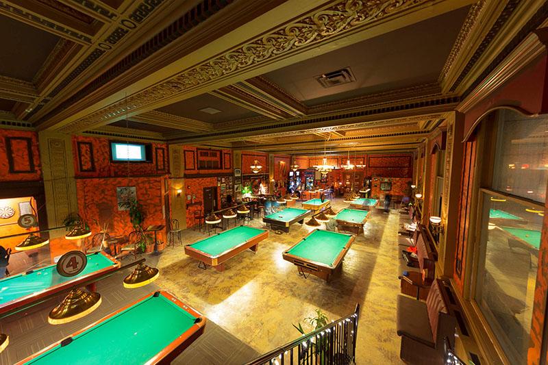 杭州台球厅装修,杭州台球厅设计,杭州台球厅装修公司,杭州装修公司