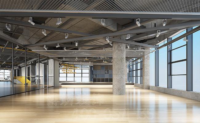 下城区250平方健身房装修案例分享,专业的健身房装修公司打造