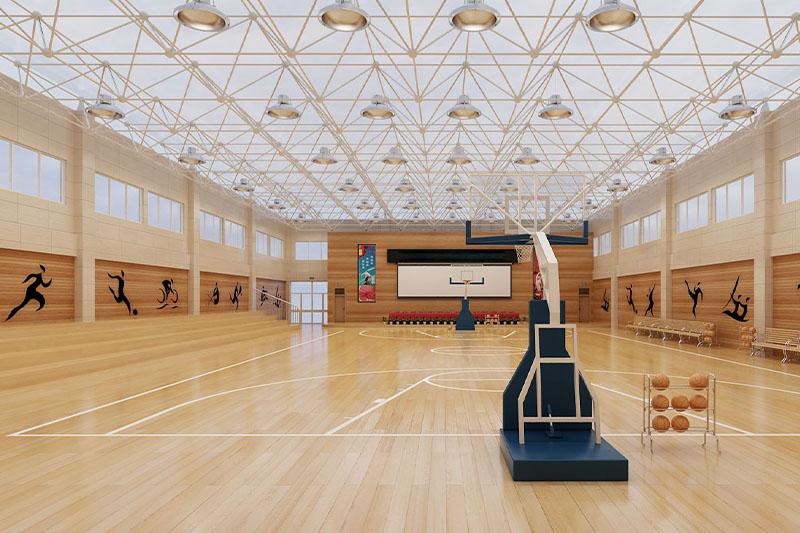 宁德大型篮球馆装修设计-球馆装修案例效果图