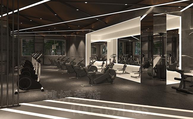 杭州健身房装修-教你打造一个专业的健身房