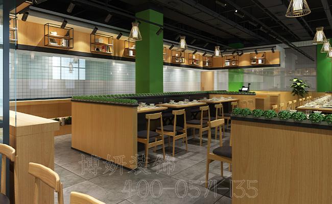 杭州快餐店装修-教你装修一个客源不断的快餐店