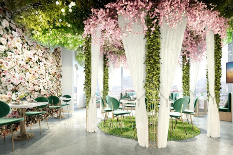 山东专业主题餐厅装修设计-花花绿绿世界只爱你
