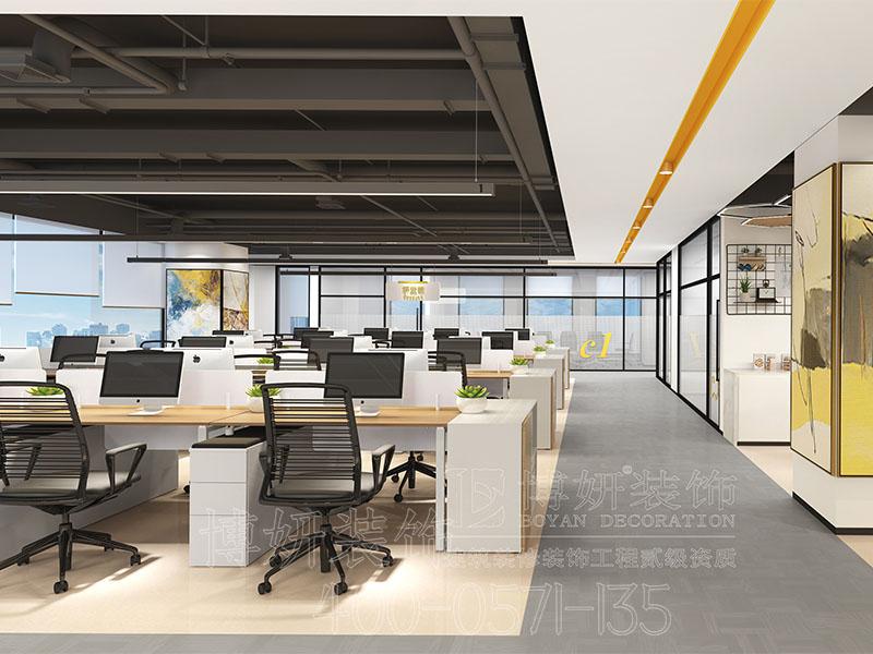 杭州办公室装修,专业办公室装修设计图,办公室装修
