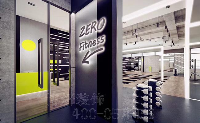 健身中心装修,杭州专业健身中心如何装修呢,健身房装修