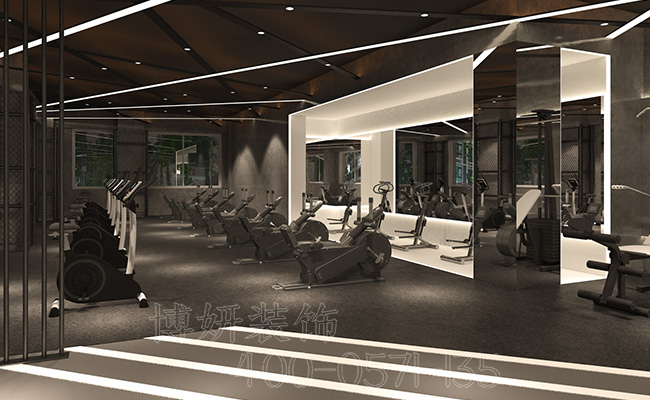 健身中心装修-杭州专业健身中心如何装修呢?