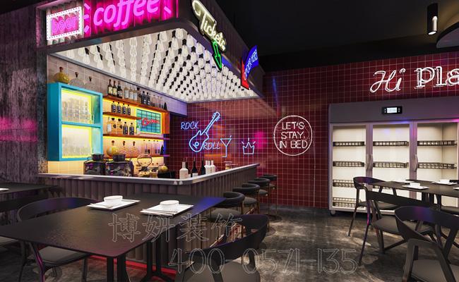 杭州快餐店装修设计-专业快餐店装修设计