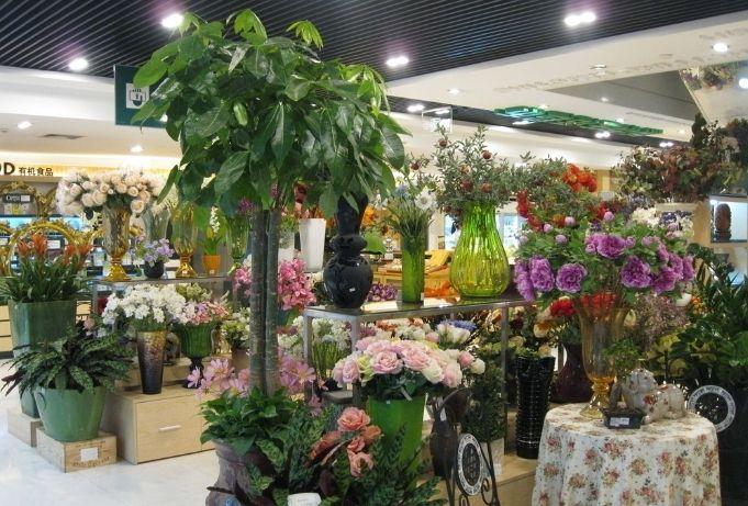杭州鲜花店装修设计-女孩子们都喜欢的专业鲜花店装修