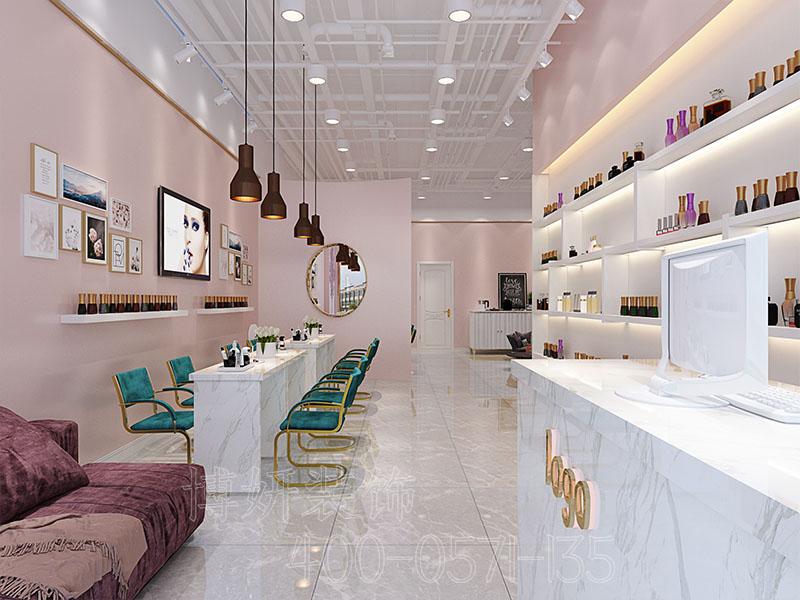 杭州美容院装修设计,专业美容会所如何装饰比较好,美容院装修