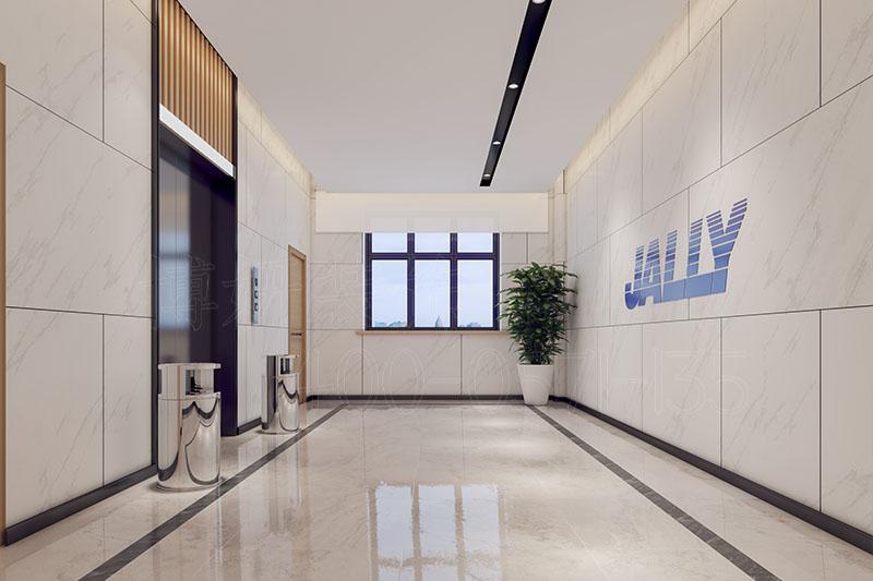 山东生物科技公司办公室装修设计-专业生物科技办公室设计效果案例展示