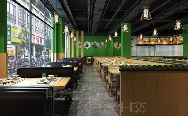 杭州专业快餐店装修-客源不断的快餐店装修你知道吗