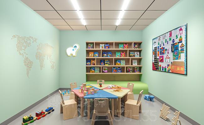 杭州专业幼儿园装修-精品幼儿园装修实景图